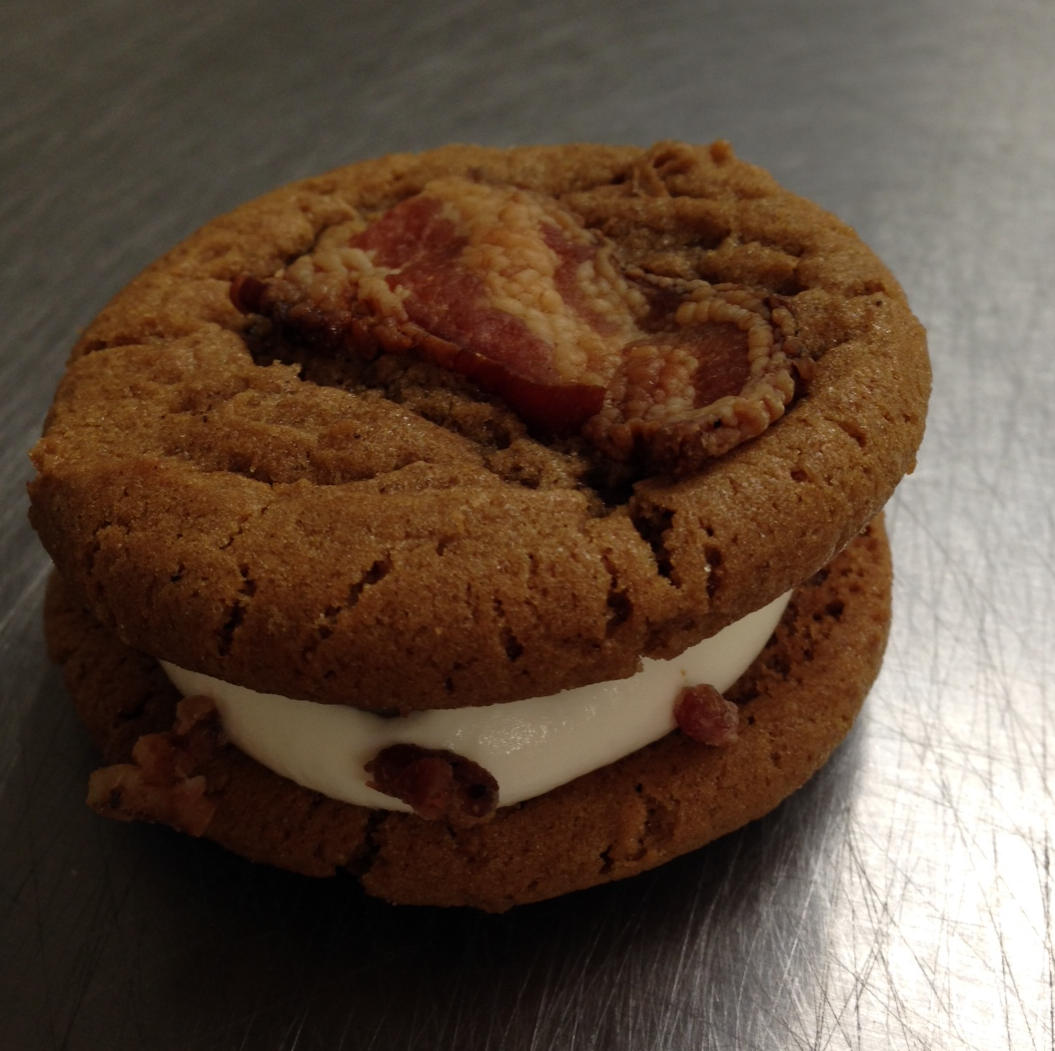Jamaica's PassPORK Treat: Thelma's Handmade BACON Ice Cream Sandwich