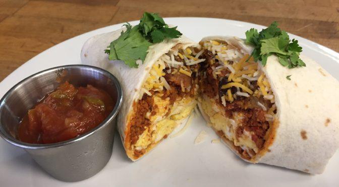 BACooN Ride Spotlight: Gusto Pizza's BACON Chorizo Burrito First Treat in Waukee