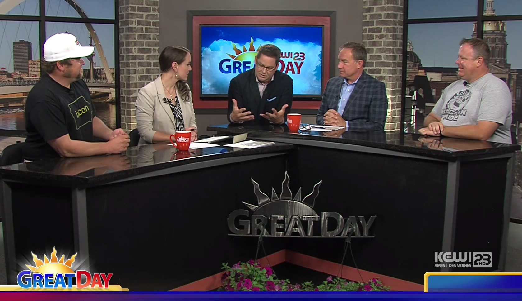 BACooN RIDE Featured on Great Day!