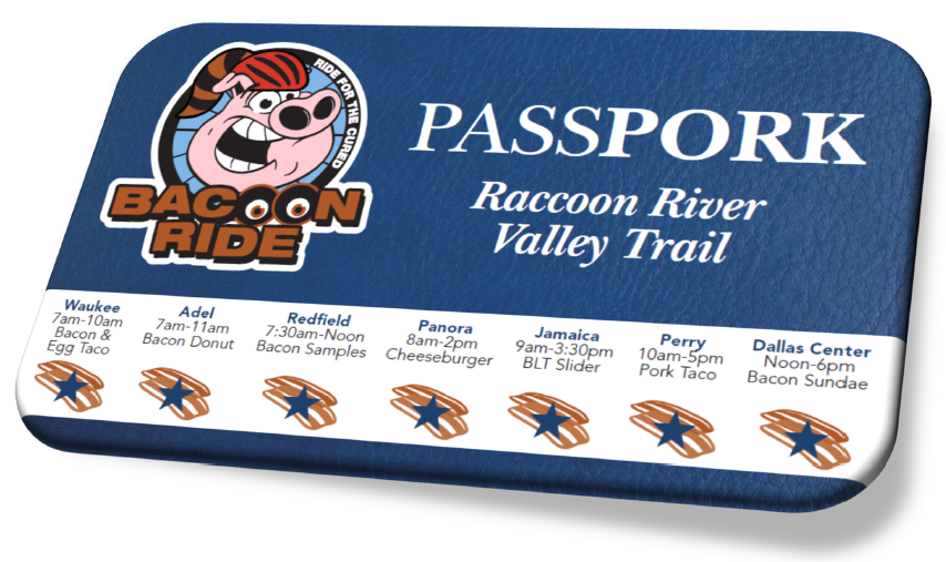 You Will Need Your PASSPork for Bacoony Goodness!
